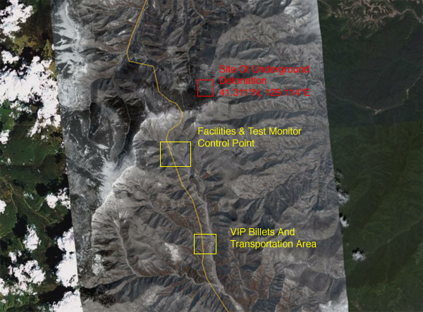 Overview of Test Area